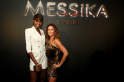 Maria Borges and Valerie Messika attend the MESSIKA Party, NYC Fashion Week Spring/Summer 2019 Launch Of The Messika By Gigi Hadid New Collection at Milk Studios on September 12, 2018 in New York City.