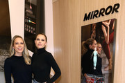 (L-R) Erin Foster and Sara Foster attend MIRROR Westfield Century City grand opening event at Westfield Century City on November 19, 2019 in Century City, California.