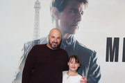 Jason Davis and Ruby Davis attend the MISSION: IMPOSSIBLE - FALLOUT Sydney Special Preview Screening at Event Cinemas George Street on July 25, 2018 in Sydney, Australia.