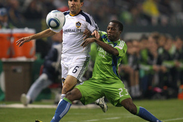 Eddie Lewis MLS Playoffs - Seattle Sounders FC v Los Angeles Galaxy - 2nd Leg