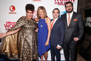 (L-R) Brittany Howard, Hoda Kotb, Mike Bruno and Tony Gervino attend the Billboard Women in Music Luncheon on December 11, 2015 in New York City.