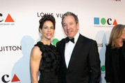 Actors Jane Hajduk and Tim Allen (R) attend MOCA's 35th Anniversary Gala presented by Louis Vuitton at The Geffen Contemporary at MOCA on March 29, 2014 in Los Angeles, California.