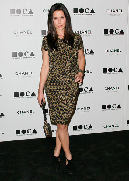 "Actress Rhona Mitra arrives at ""The Artist's Museum Happening"" MOCA Los Angeles Gala held at MOCA Grand Avenue on November 13, 2010 in Los Angeles, California."