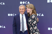 Christoph Waltz and Judith Holste attend the MOCA Benefit 2019 at The Geffen Contemporary at MOCA on May 18, 2019 in Los Angeles, California.