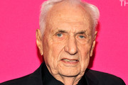 Architect Frank Gehry at the MOCA Gala 2017 honoring Jeff Koons at The Geffen Contemporary at MOCA on April 29, 2017 in Los Angeles, California.
