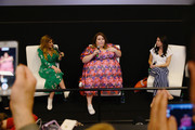 """Denise Albert, Chrissy Metz and Melissa Musen Gerstein speak at Q&A for celebration screening of """"Breakthrough"""" hosted by The MOMS at Regal E-Walk on April 09, 2019 in New York City."""