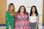 """Melissa Musen Gerstein, Chrissy Metz and Denise Albert attend the celebration screening of """"Breakthrough"""" hosted by The MOMS at Regal E-Walk on April 09, 2019 in New York City."""