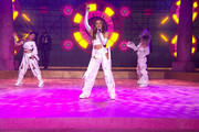 In this screengrab released on November 08, Leigh-Anne Pinnock, Jade Thirlwall and Perrie Edwards of Little Mix perform at the MTV EMA's 2020 on November 01, 2020 in London, England. The MTV EMA's aired on November 08, 2020.