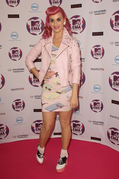Katy+Perry in MTV Europe Music Awards 2011 - Arrivals