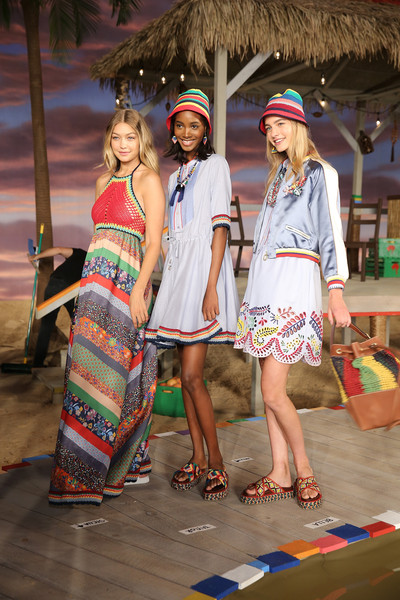 Tommy Hilfiger Women's - Backstage - Spring 2016 New York Fashion Week: The Shows
