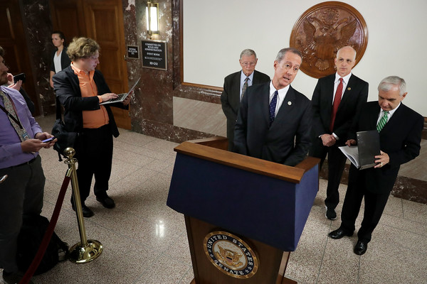 Senate Armed Services Members Discuss National Defense Authorization Act