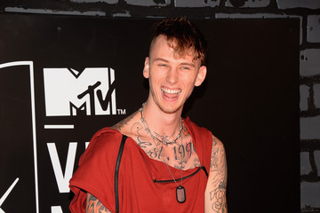 Machine Gun Kelly Arrivals at the MTV Video Music Awards — Part 4