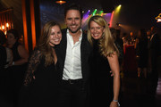 Taylor Puskar, Charles Esten, and Patty Hanson attend the Big Machine Label Group's celebration of the 50th Annual CMA Awards at Marathon Music Works on November 2, 2016 in Nashville, Tennessee.