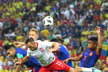 Maciej Rybus Poland vs. Colombia: Group H - 2018 FIFA World Cup Russia