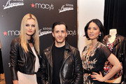 Model Edita, designer Kinder Aggugini, and actress/TV personality Olivia Munn attend Macy's Celebration  of their 1st Designer Collaboration with Kinder Aggugini at Macy's Herald Square on February 15, 2011 in New York City.