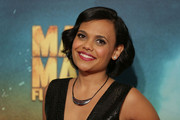 Miranda Tapsell arrives at the Australian Premiere of Mad Max: Fury Road at Event Cinemas George Street on May 13, 2015 in Sydney, Australia.