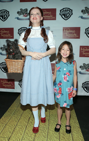 """Madame Tussauds Hollywood Unveils Dorothy at """"Wizard Of Oz"""" Premiere"""