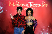 Madame Tussauds New York Hosts Selena Quintanilla's Sister for Unveiling of Late Singer's Figure in Times Square