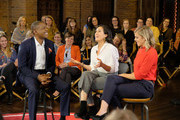 """Carlos Watson, Vanessa Carlton and Allie Beth Stuckey attend the """"Take On America"""" discussion panel presented by Ozy Media on October 15, 2018 in Nashville, Tennessee."""