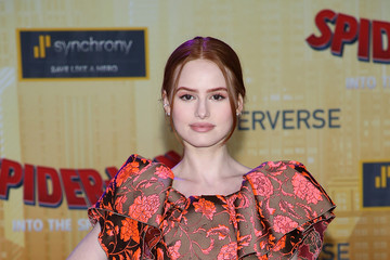 Madelaine Petsch World Premiere Of Sony Pictures Animation And Marvel's 'Spider-Man: Into The Spider-Verse' - Arrivals