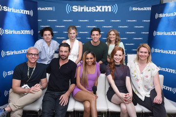 Madelaine Petsch Lili Reinhart SiriusXM's Entertainment Weekly Radio Broadcasts Live From Comic Con in San Diego