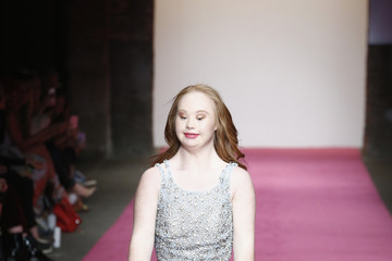 Madeline Stuart Nolcha Shows Runway New York Fashion Week 2017 PromGirl / PromGuy