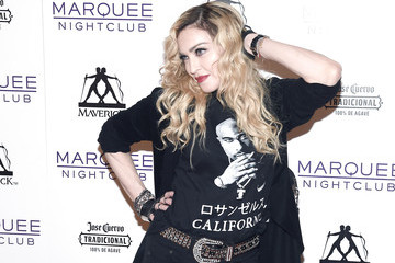 Madonna Madonna Hosts Rebel Heart Concert After Party at Marquee Nightclub