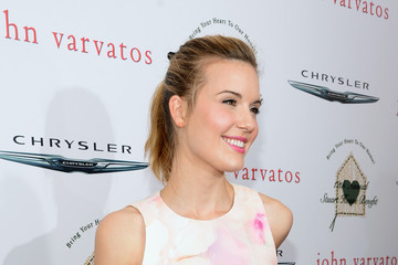 Maggie Grace John Varvatos 12th Annual Stuart House Benefit - Arrivals