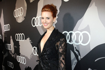Maggie Grace Audi Celebrates Golden Globes Week 2015