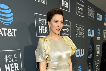 Maggie Gyllenhaal The 24th Annual Critics' Choice Awards - Red Carpet