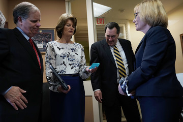 Maggie Hassan Senate Lawmakers Discuss Ongoing Immigration Reform Efforts