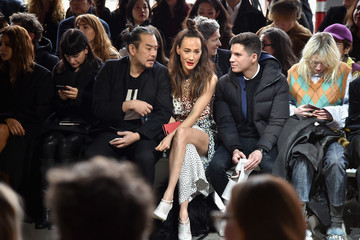 Maggie Q Jason Wu - Front Row - February 2018 - New York Fashion Week: The Shows