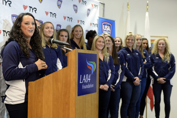 Maggie Steffens USA Women's Water Polo Team Annoucement