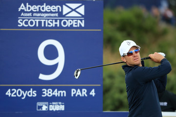 Magnus A Carlsson AAM Scottish Open - Day One
