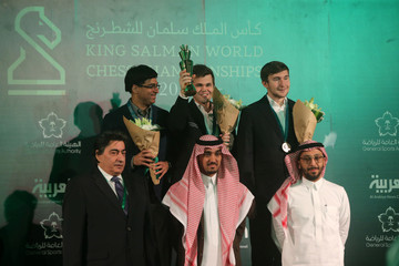 Magnus Carlsen 2017 King Salman World Rapid & Blitz Chess Championships - Day 6