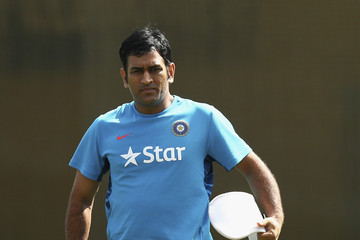 Mahendra Singh Dhoni India Training Session