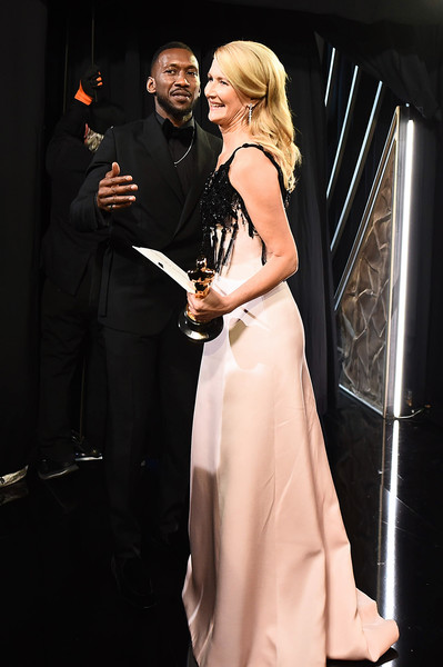 92nd Annual Academy Awards - Backstage [handout photo,dress,fashion,gown,lady,performance,event,formal wear,blond,human body,haute couture,laura dern,mahershala ali,backstage,best actress in a supporting role,dolby theatre,california,hollywood,a.m.p.a.s.,92nd annual academy awards,laura dern,fashion,celebrity,academy awards,academy award for best actress in a supporting role,photograph,fashion show,livingly media,lookbook]