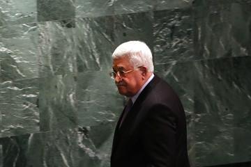 Mahmoud Abbas World Leaders Gather in New York for the Annual United Nations General Assembly