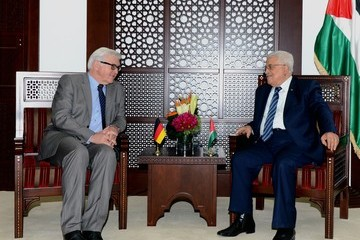 Mahmoud Abbas German Foreign Minister Visits Israel And Palestinian Territories