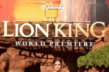 Maia Mitchell The World Premiere Of Disney's 'The Lion King'