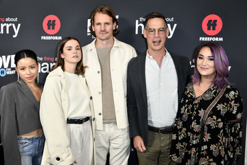 """Maia Mitchell Tom Ascheim Premiere Of Freeform's """"The Thing About Harry"""" - Arrivals"""