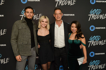 Maia Mitchell Tommy Martinez Premiere Of Freeform's 'Good Trouble' - Arrivals