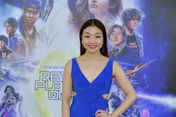 """Maia Shibutani Premiere Of Warner Bros. Pictures' """"Ready Player One"""" - Arrivals"""