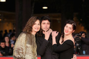 "Valerie Lemercier, Jeremie Elkaim and Valerie Donzelli attend the ""Main Dans La Main"" Premiere during the 7th Rome Film Festival at the Auditorium Parco Della Musica on November 10, 2012 in Rome, Italy."