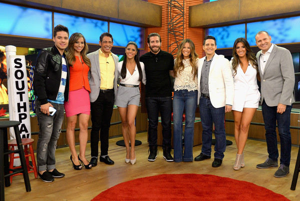 Celebrities on the Set of Despierta America - July 17, 2015