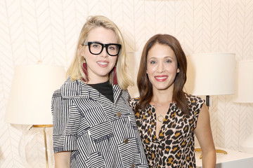 Majandra Delfino Serena & Lily and Sara Blakely Celebrate the Launch of The Belly Art Project Benefiting Every Mother Counts