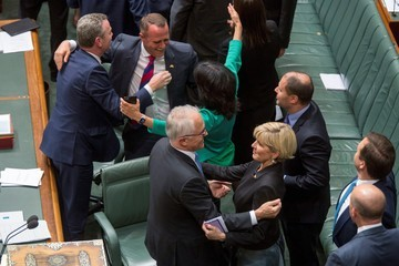 Malcolm Turnbull Parliament Votes on Marriage Equality Bill