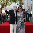 Malgosia Tomassi Stacy Keach Honored With A Star On The Hollywood Walk Of Fame