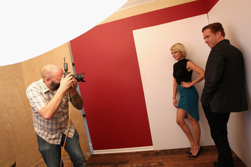 Malin Akerman Behind The Scenes Of The Getty Images Portrait Studio Powered By Samsung Galaxy At 2015 Summer TCA's