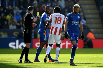 Mame Biram Diouf Leicester City vs. Stoke City - Premier League